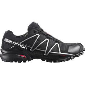 Salomon Speedcross 4 GTX Shoes Men Black/Black/Silver Metallic-X